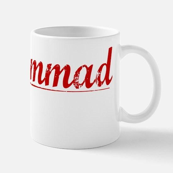 Mohammad, Vintage Red Mug