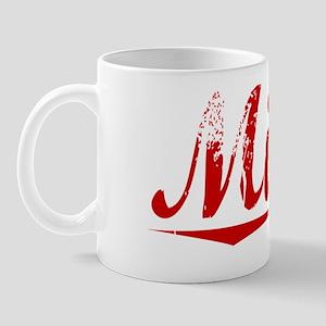 Miller, Vintage Red Mug