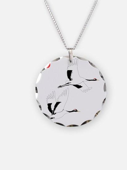 Soaring Cranes Necklace