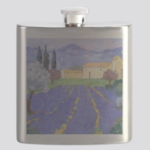 Lavender Farm Flask