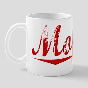 Moffett, Vintage Red Mug