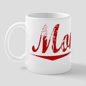 Montag, Vintage Red Mug