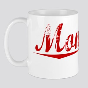 Montoya, Vintage Red Mug
