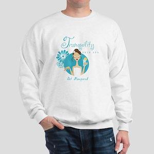 Tranquility Skin Spa Sweatshirt
