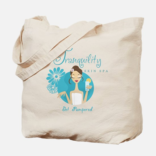 Tranquility Skin Spa Tote Bag