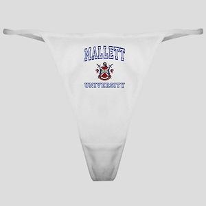 MALLETT University Classic Thong