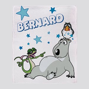 Bernard Bear Throw Blanket