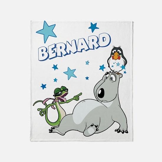 Bernard Bear Throw Blanket
