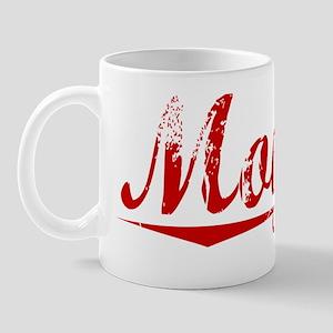 Moyers, Vintage Red Mug