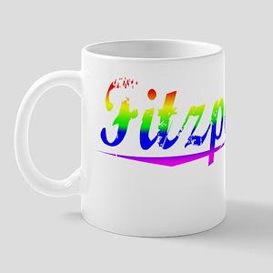 Fitzpatrick, Rainbow, Mug