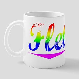 Fletcher, Rainbow, Mug