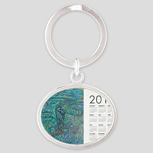2013 Jade Steed Calendar Oval Keychain