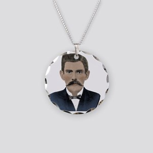Doc Holliday Necklace Circle Charm