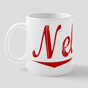 Nelson, Vintage Red Mug