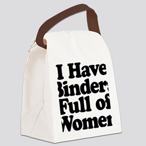 Binders Full of Women Canvas Lunch Bag