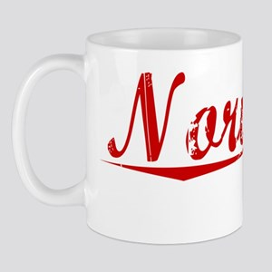 Norwood, Vintage Red Mug