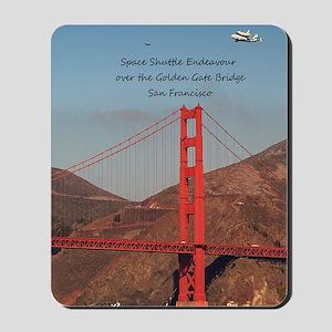 SF_5.5x8.5_Journal_EndeavourOverGoldenGa Mousepad