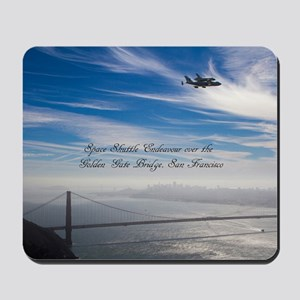SF_5x3rect_sticker_EndeavourOverGoldenGa Mousepad