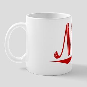 Nida, Vintage Red Mug