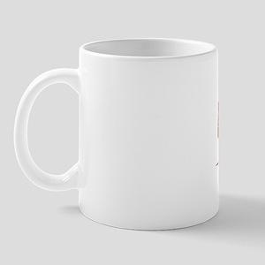 Ong, Vintage Red Mug