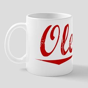 Oleary, Vintage Red Mug
