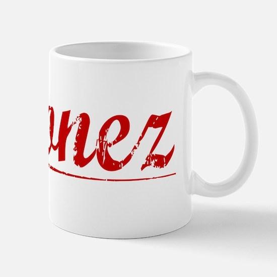 Ordonez, Vintage Red Mug