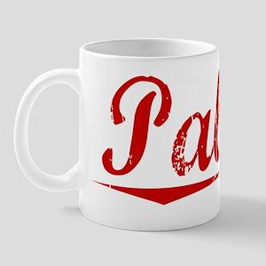 Palma, Vintage Red Mug