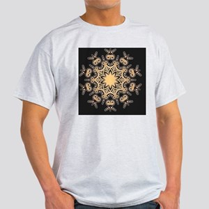BLACK AND GOLD SNOWFLAKE Light T-Shirt