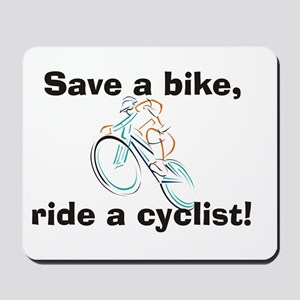 Save a bike Mousepad