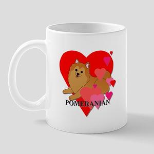 Orange Pomeranian Mug