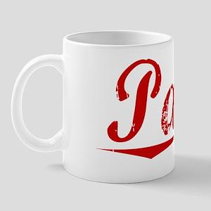 Parke, Vintage Red Mug
