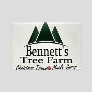 Bennetts Tree Farm Logo Magnets