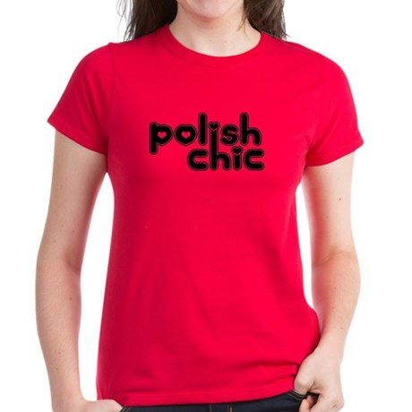 Polish Chic Women's Dark T-Shirt