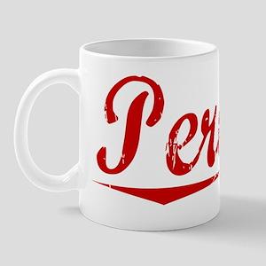 Pereira, Vintage Red Mug