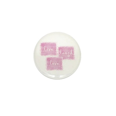 live, laugh, love Mini Button (100 pack)