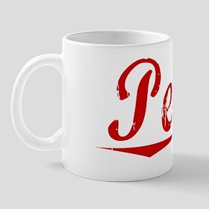 Pedro, Vintage Red Mug