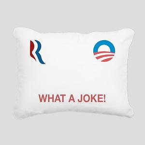ROFLMAO - Vote Romney or Rectangular Canvas Pillow