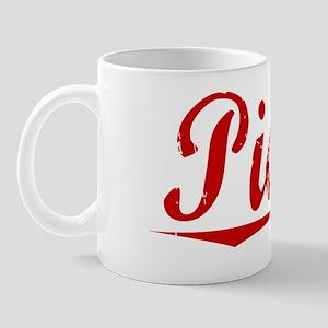 Pickel, Vintage Red Mug