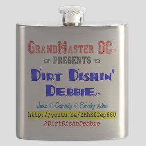Dirt Dishin Debbie Flask