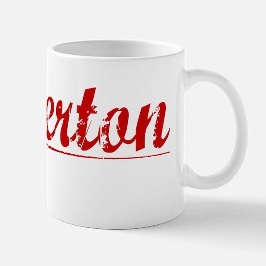 Pinkerton, Vintage Red Mug