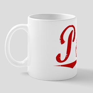 Poole, Vintage Red Mug