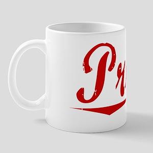 Prude, Vintage Red Mug