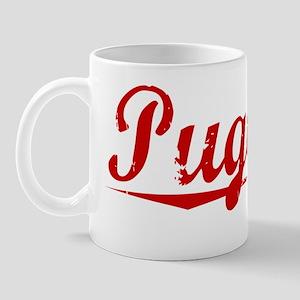 Pugliese, Vintage Red Mug