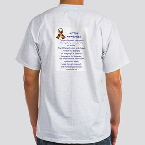 2 Sided Autism Light T-Shirt