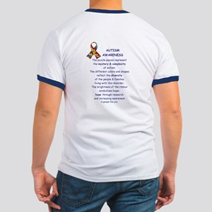 2 Sided Autism Ringer T