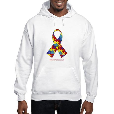 2 Sided Autism Hooded Sweatshirt