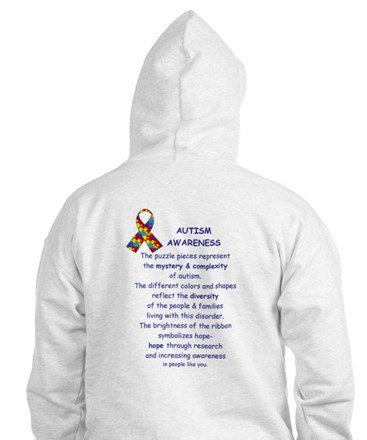 2 Sided Autism Jumper Hoody