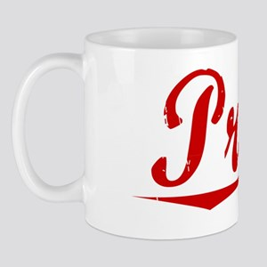 Pruitt, Vintage Red Mug