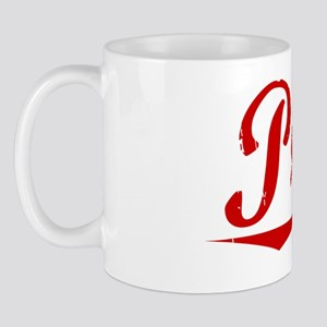 Prine, Vintage Red Mug