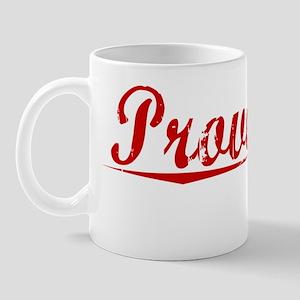 Provencal, Vintage Red Mug